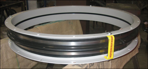 42 Inch Diameter Neoprene Fabric Expansion Joint for a Generator Cooling Fan