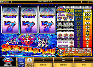 Spectacular Wheel of Wealth slot game online review