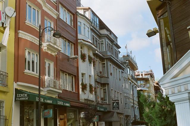 Sultanahmet side street.