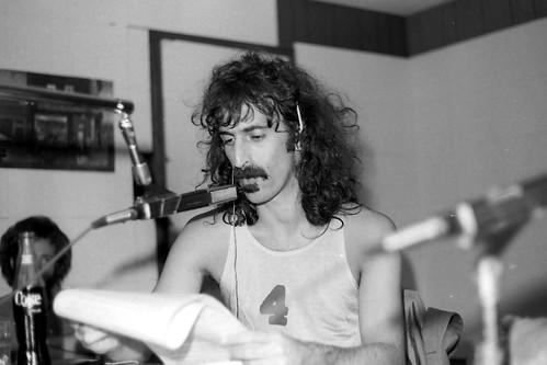 Frank Zappa at WLYX - July 1974 by joespake