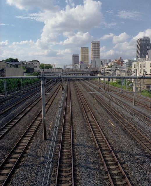 幹線の線路
