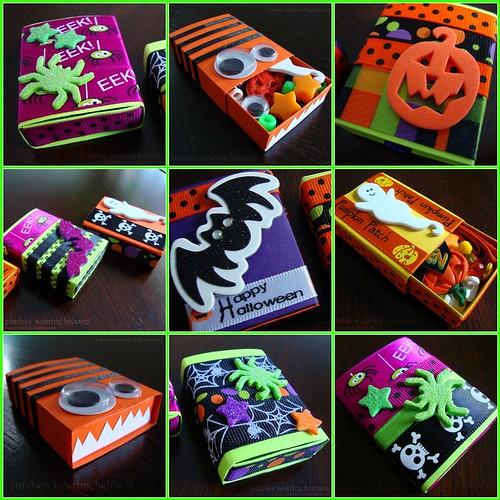 Halloween Matchbox Mosaic