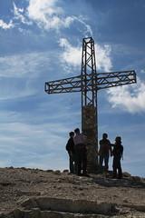 Sass Pordoi Gipfelkreuz