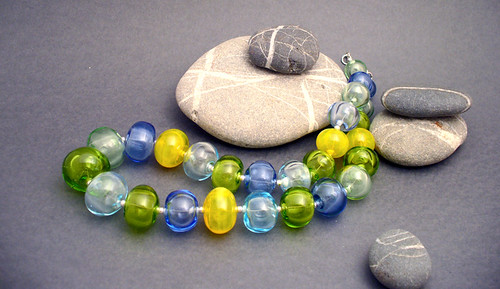 Lampvork, hollow glass beads, beads