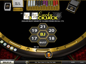 Lucky Blackjack Win