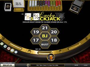Lucky Blackjack Win