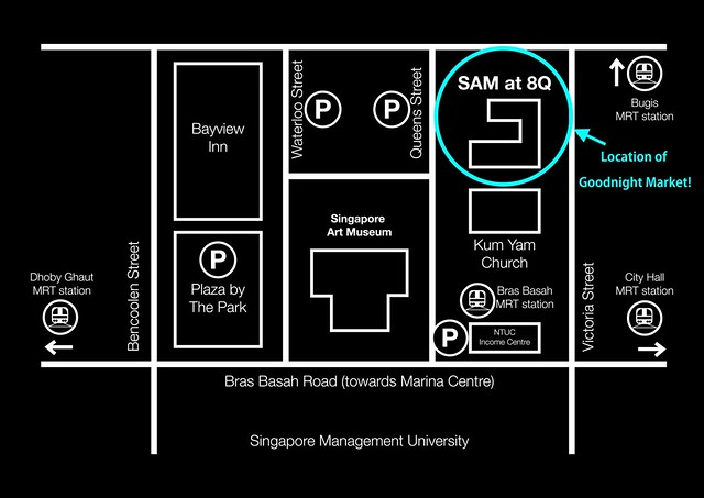 Location of goodnight flea market