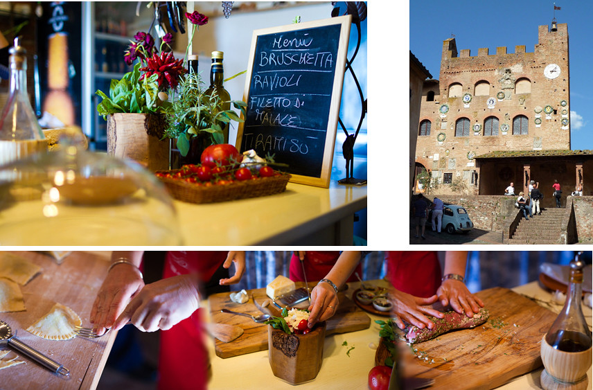 A Special Day Cooking in Certaldo Medieval Art Town