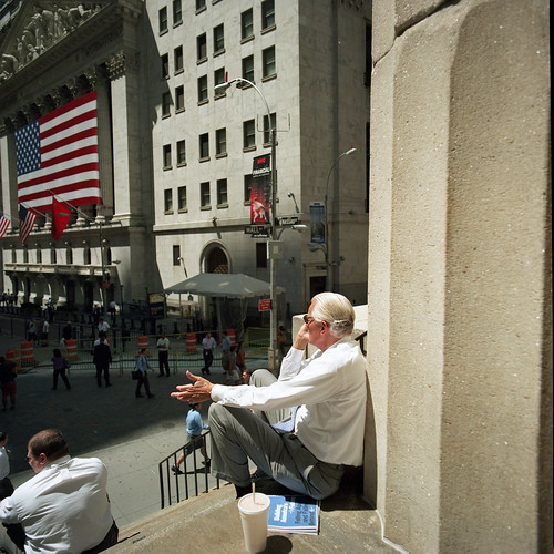 Wall Street Death Watch 5 (Man with Plan)