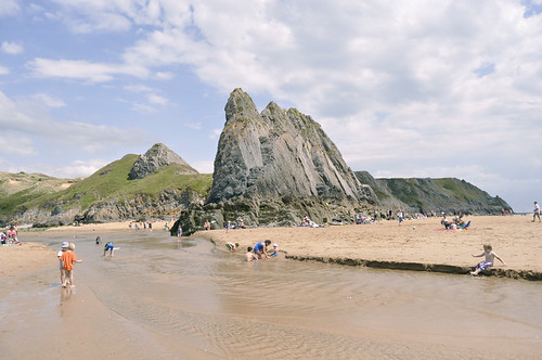 Three Cliffs Bay, The Gower, Wales