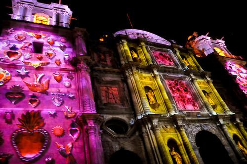 Espectáculo Multimedia Catedral Oaxaca (18)