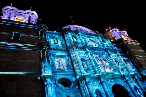 Espectáculo Multimedia Catedral Oaxaca (15)