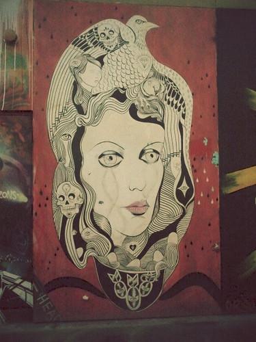 En las paredes del barrio de Mision hay arte