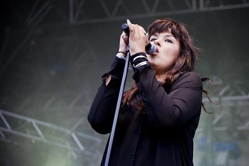 Maria Mena på Øyafestivalen 2011
