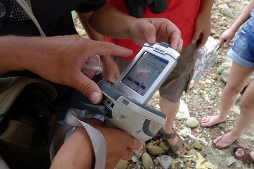 民間團體自費購買土讓檢測儀器