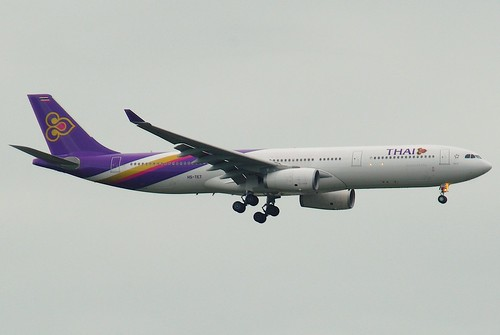 Thai Airways International Airbus A330-300; HS-TET@BKK;30.07.2011/613ao