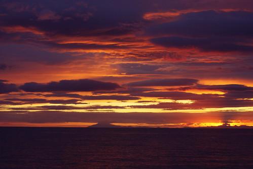 Sunset over Snaefellsnes