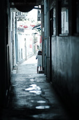 where's anyone? (puguhindra) Tags: street urban girl children indonesia alley nikon alone child candid 85mm lonely yogyakarta jogjakarta streetcandid flickraward d7000 nikond7000 streetandcandidphotography