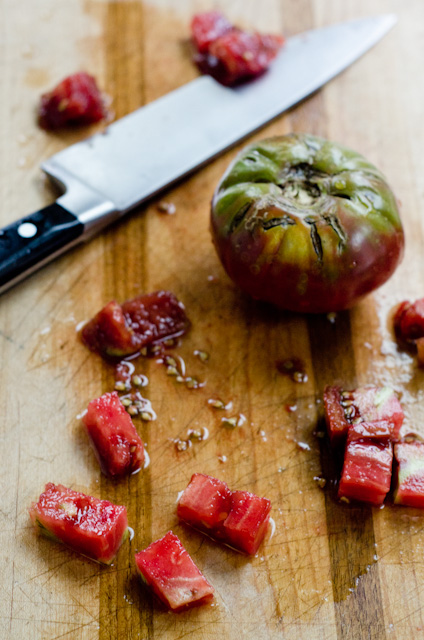 garden heirloom tomatoes