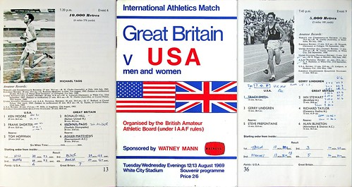 us ussr great britain track meet 1969