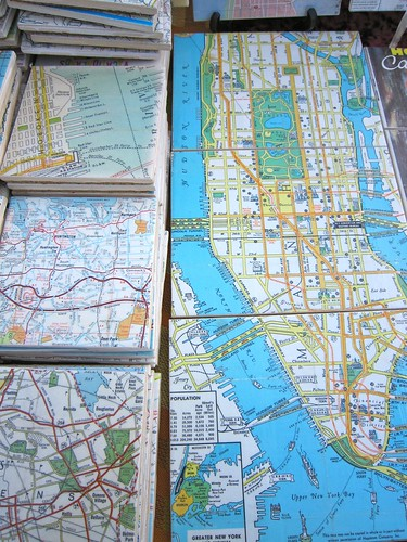 Manhattan Map Trivet / Coaster