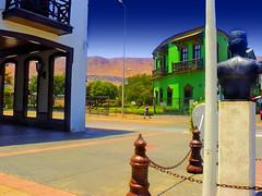 Antofagasta - Casco Histórico (Victorddt) Tags: chile arquitectura edificio sonycybershot norte ferrocarril antofagasta histórico iiregión