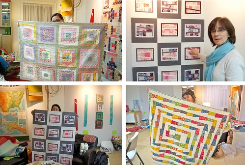 Quilts for Quake Survivors night