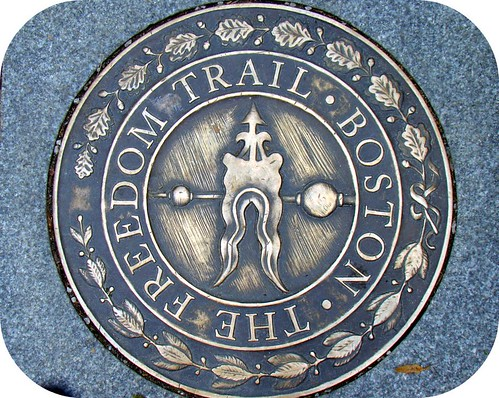 The Freedom Trail .. the last trail I'll be doing for a while (: