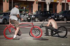 Cool bikes! (whalenmdw) Tags: california people urban love bike bicycle nikon candid singlespeed fixie fixedgear orangecounty huntingtonbeach  fixedgearrepublic