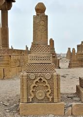 A man's tomb at Chowkandi (madeeha syed) Tags: pakistan heritage archaeology ancient karachi archaeological sindh tombs chowkandi madeehasyed