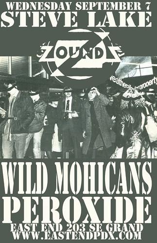 9/7/11 SteveLake/WildMohicans/Peroxide