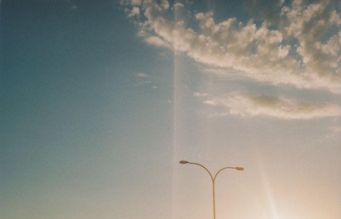sunset {yashica}
