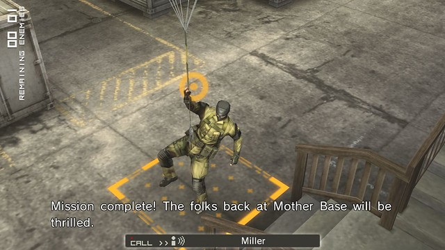Metal Gear Solid: Peace Walker HD - Back to base