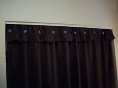 Closet Curtain Buttons