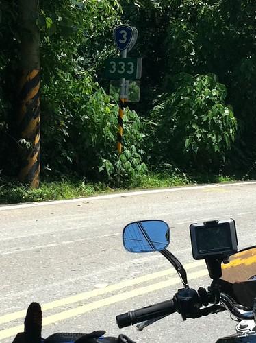台3線 333 KM 路標