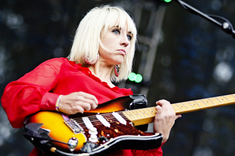 The Joy Formidable at Outside Lands Day 1