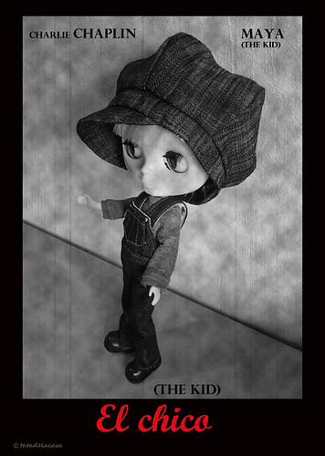 The Kid (el chico) Starring: Maya by tatadelacasa