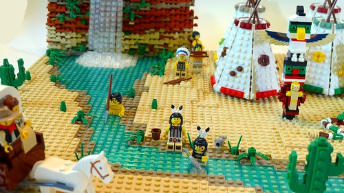 Brickfoot villagers fishing