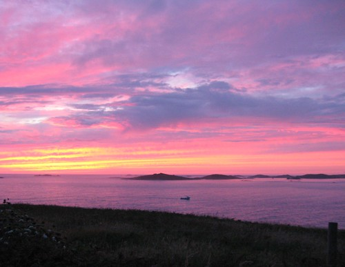 scilly sunset