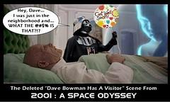 2001 : A DARTH ODYSSEY (DarkJediKnight) Tags: 2001 dave starwars humor fake parody darthvader bowman starchild aspaceodyssey keirdullea