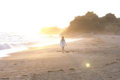 * (Timos L) Tags: sun beach girl sand hellas greece contrejour timos panasoniclx5
