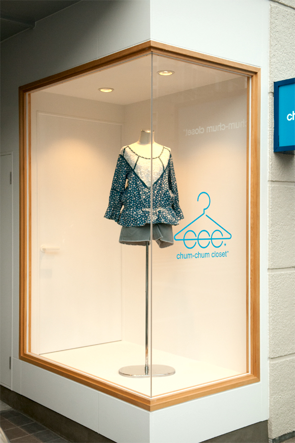 show window|chum-chum closet shimanto