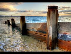 Groynes (Miss Printz) Tags: sea seascape hdr groynes mygearandme mygearandmepremium mygearandmebronze mygearandmesilver mygearandmegold mygearandmeplatinum mygearandmediamond gearandmebronze