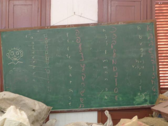 Hebrew lesson - Communidad Hebrea Hatikva - Santiago de Cuba