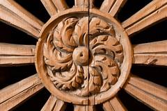"Confessional (Herve ""Setaou"" BRY) Tags: door wood france architecture porte material savoie confessional bois matriau sardires"