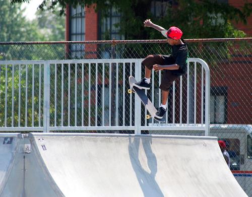 Skateboard Park - Clark airborne