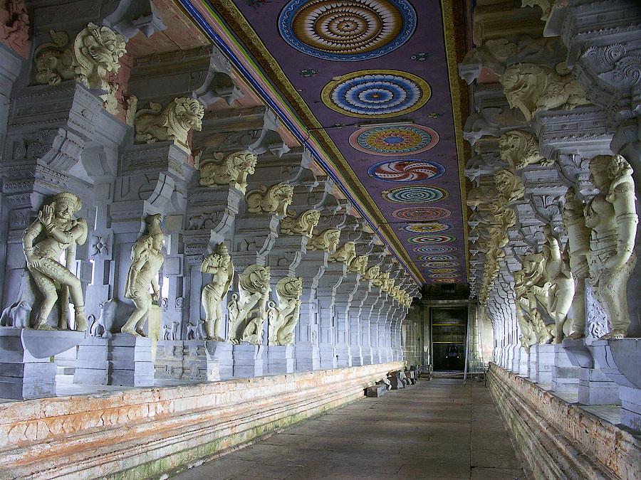 Рамешварам, храм Раманатасвами, Индия © Kartzon Dream - авторские путешествия, авторские туры в Индию, тревел видео, фототуры