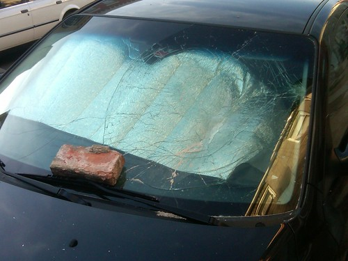 car - windshield