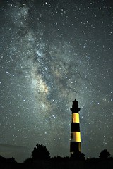 Bodie Island Light with Milky Way (icecubephoto - trying to catch up) Tags: lighthouse obx milkyway bodieislandlighthouse bodieislandlight