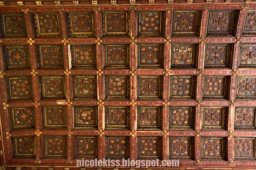 square ceiling